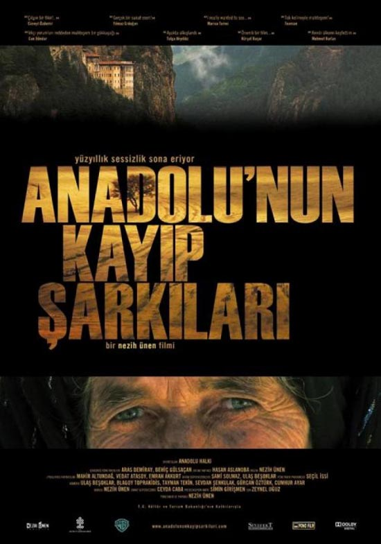 Anadolunun Kayıp Şarkıları iTunes'da